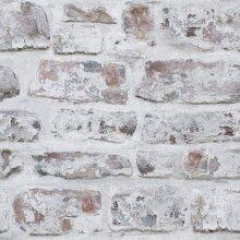Arthouse Artistick White Washed Brick Wallpaper Peel and Stick Self Adhesive