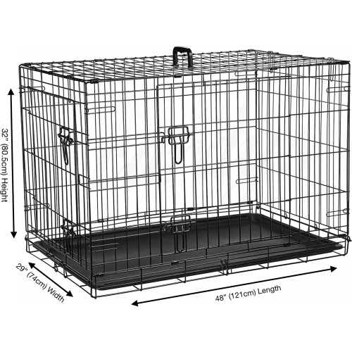 """(XX Large 48"""") Cardy's Dog Crate   Puppy Pet Carrier"""