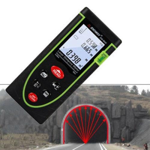 Handheld Digital Laser Distance Meter 40m Measure Range Diastimeter