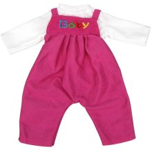 Ebuddy Rompers Suit Rose Doll Clothes For 16 Inche High Simulation Baby