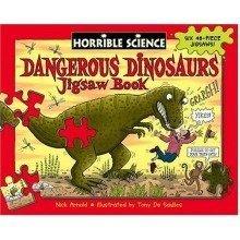 Dangerous Dinosaurs Jigsaw Book (horrible Histories Novelty) - Used