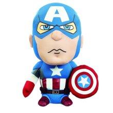 Marvel Medium Captain America Talking Plush