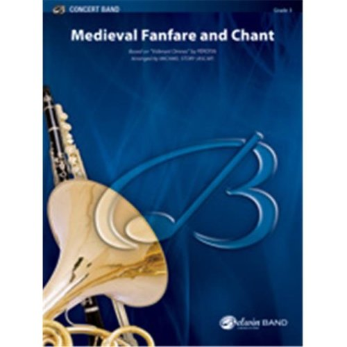 Alfred 00-35390 MEDIEVAL FANFARE AND CHANT-BCBSET4D