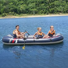 Bestway Hydro Force Inflatable Raft Boat 307x126 cm Rowing Fishing Raft Boat