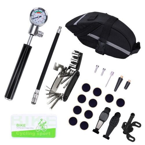Bicycle tool set ,Bicycle repair pump barometer