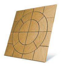 Patio Circle Kit Chalice Paving 3.24m2 Mellow Gold