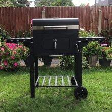 Campfire XL Outdoor Smoker Barbecue Charcoal Portable BBQ Grill Garden