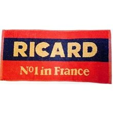 Ricard Cotton Bar Towel 485mm x 250mm