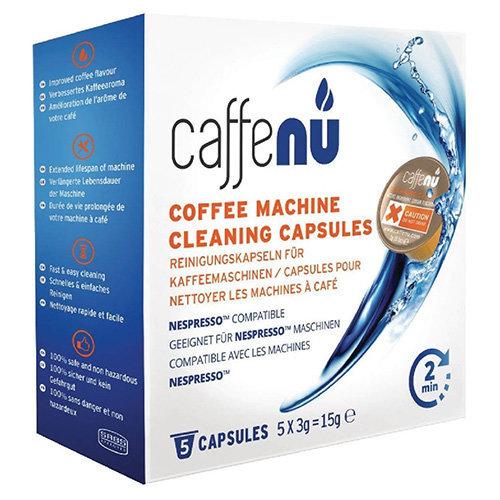 Caffenu Cleaning capsules for Nespresso coffee machine