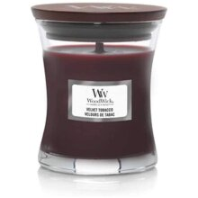 Woodwick Mini Hourglass Small Jar Velvet Tobacco