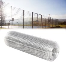 Galvanised Welded Wire Mesh Roll Chicken Run Rabbit Fencing Aviary Fence