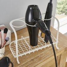 Freestanding Hair Dryer & Straighteners Holder