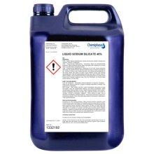 Liquid Sodium Silicate 40% Water Glass, Liquid Glass 1 x 5 Litres
