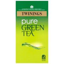 Twinings Pure Green Tea Enveloped Tea Bags - 12x20