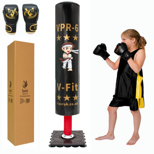 Viper Children Free Standing Boxing Punching Bag Stand For Kids Target Heavy Duty Punch Bags Kickboxing MMA