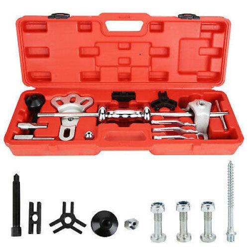 Slide Hammer Dent Puller Tool Kit Wrench Adapter Axle Bearing Hub Auto