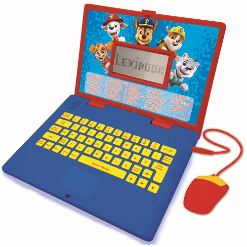 Paw Patrol Bilingual Educational Laptop with 124 Activites