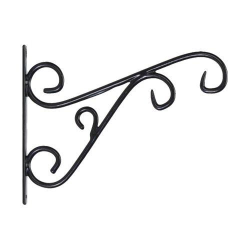 """Curved Design Hanging Basket Bracket - 12"""" Bracket"""