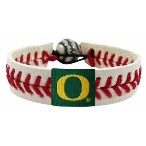 Oregon Ducks Classic Baseball Bracelet