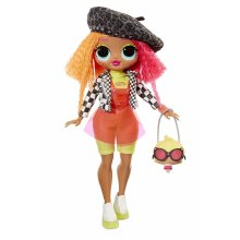 L.O.L. Surprise! O.M.G. Neonlicious Fashion Doll with 20 Surprises!