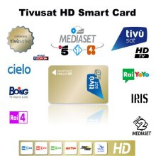 TivuSat HD Viewing Card *** New