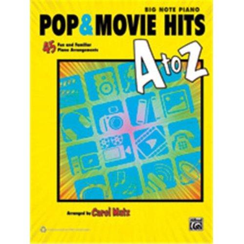 Alfred 00-39464 POP & MOVIE HITS A TO Z - BN MATZ