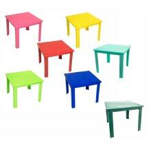 e2e Kids Children Plastic Home Garden Picnic Folding Foldable Table
