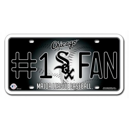 Chicago White Sox License Plate #1 Fan