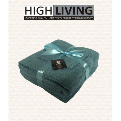 LUXURY 6 PIECE TOWEL SET- FACE, HAND, BATH TOWELS