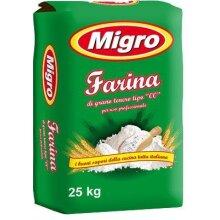 Migro Farina Plain Flour 25kg