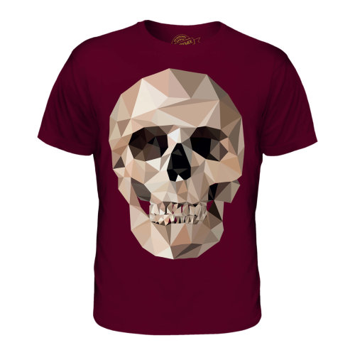 Candymix - Geometric Skull - Men's T-Shirt Top