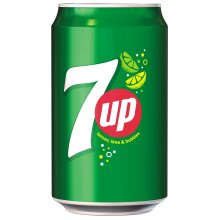 7up Can 330ml x 24
