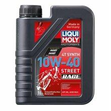 Liqui Moly 4-Stroke Fully Synthetic Street Race Motorcycle Oil 10W-40 1 Litre