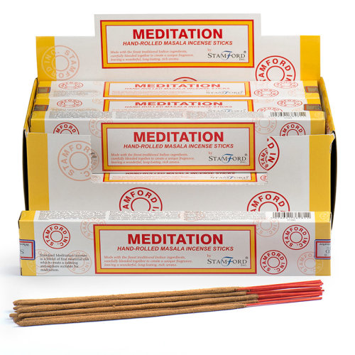 Stamford Masala Incense Sticks - Meditation - Set of 12