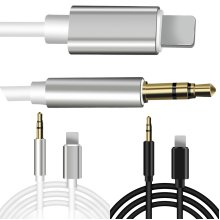 Lightning to 3.5mm AUX Audio Car Adapter Cable Cord For iPhone 7 8 Plus X S XR