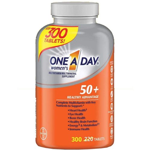 One A Day Women's 50+ Multivitamin/Multimineral Dietary Supplement - 300 tablets