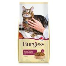 Burgess Mature Cat Turkey & Cranberry 1.4kg