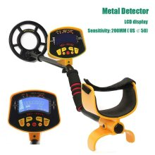 Metal Detector Digger Finder Deep Sensitive Coil Hunter LCD Display