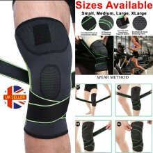 Knee Support Brace Compression Strap Sleeve Sports