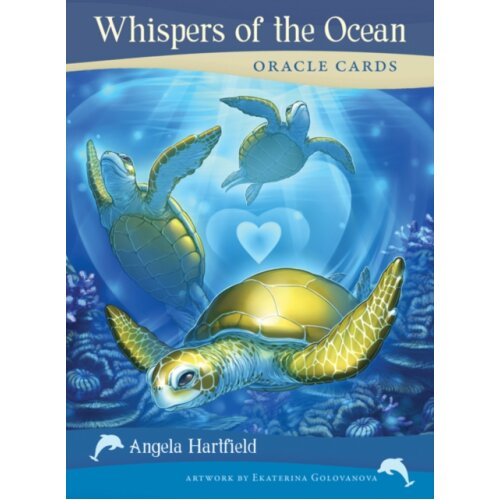 Whispers of the Ocean Oracle Cards by Hartfield & Angela Angela Hartfield