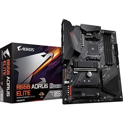 Gigabyte B550 AORUS ELITE ATX Motherboard for AMD AM4 CPUs