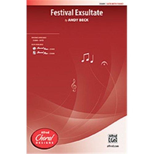 Alfred 00-35685 FESTIVAL EXSULTATE-STRX CD