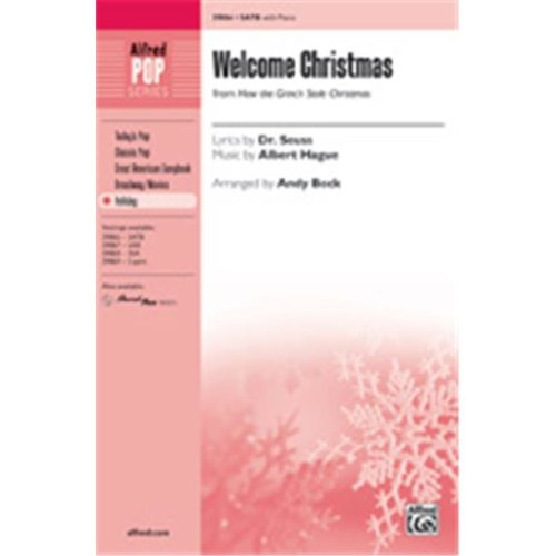 Alfred 00-39870 WELCOME CHRISTMAS-STRX CD