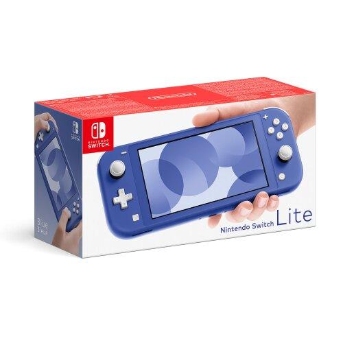 Blue Nintendo Switch Lite Console