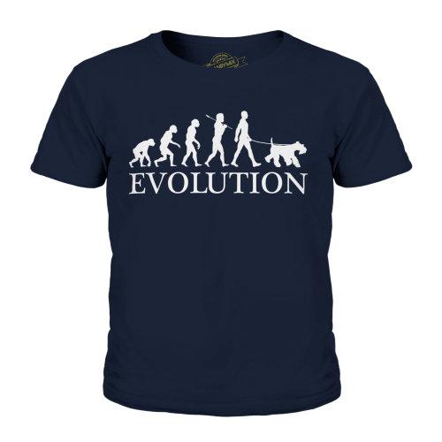 Candymix - Giant Schnauzer Evolution - Unisex Kid's T-Shirt