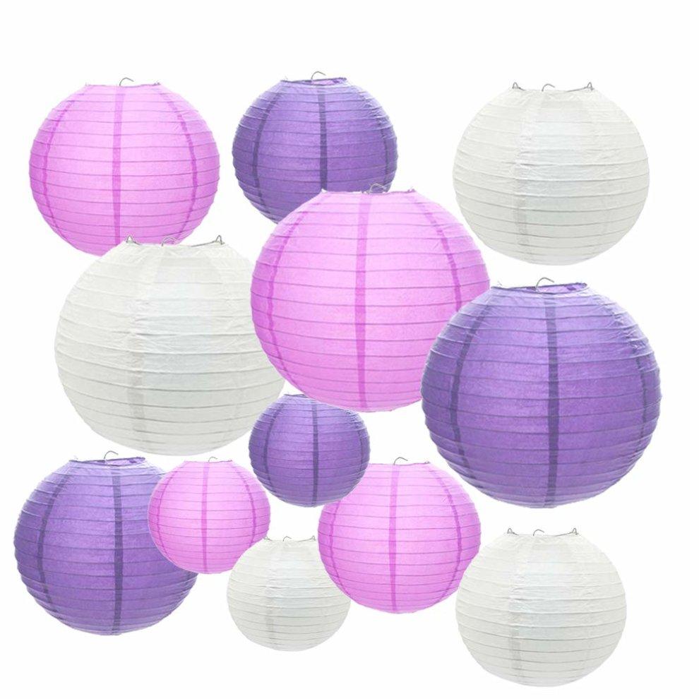 Paper Lanterns 12 Packs 6 8 10