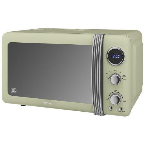 Swan Retro SM22030GN 20 Litre Microwave - Green