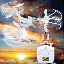 6 Axis Gyro 2.4GHz CX-33W Quadcopter Drone Wifi Camera FPV 4CH LED Light