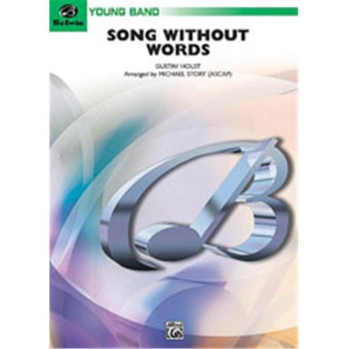Alfred 00-BD9933 SONG WITHOUT WORDS-CB