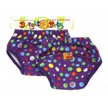 Bright Bots 2pk Washable Training Pants Spots